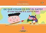 De qué color es Pof el gato? - Di che colore è il gatto Pof?: Español - Italiano