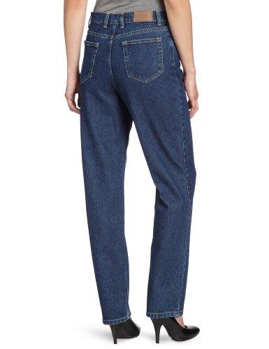 Eddie Bauer Damen Jeans Normaler Bund, 21007001 Blau (Dark Denim)