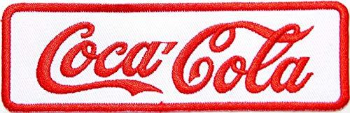 Kostüm Cola Coca Zubehör - LipaLipaNa Genießen Sie Coca Cola Coke Softdrink Logo Jacke T-Shirt Patch Nähen Eisen auf gesticktem Zeichen Badge Kostüm Kleidung Logo Applique Souvenir Zubehör