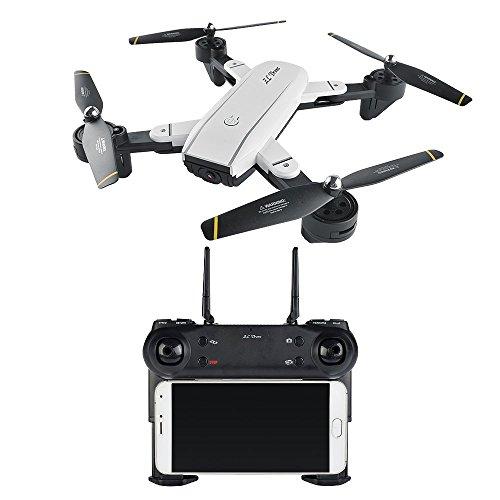 Preisvergleich Produktbild Rabing Faltbare Mini-RC-Drohne,  FPV,  VR,  WLAN,  RC,  Quadrokopter,  Fernbedienung zum Halten der Flughöhe,  mit HD 720P Kamera