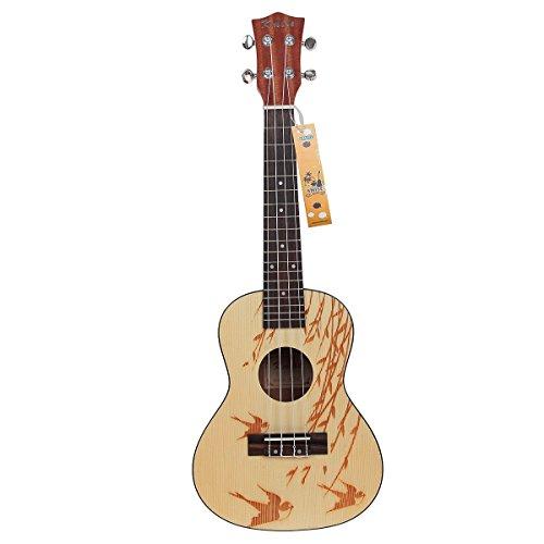 Picea-macizas-Kmise-6096-cm-hawaiano-de-ukelele-de-concierto-de-guitarra-acstica