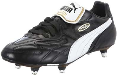 Puma King Pro Soft Ground, Men's Football Competition Shoes, Black (Black/White/Black), 5 UK (38 EU)