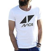 Friendly Bees Avicii Tim Berg Electronic Music Star Ibiza Logo T-Shirt pour Les Hommes