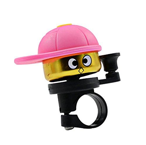 RUIX Fahrrad-Klingel Kinder Universal Niedlich,Pink