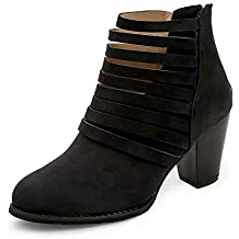 baf6ef7204028e HRCxue High Heels Dick Damen Stiefel Martin Boots High Heel Dick mit Damen  Stiefel
