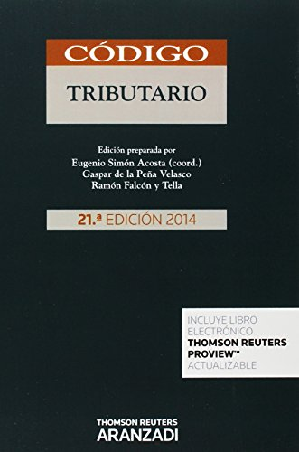 Código tributario (Papel + e-book) (Código Básico) por Gaspar de la Peña Velasco