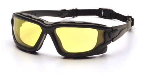 Pyramex Safety I-Force SB7030SDT Schutzbrille mit erhöhter Antibeschlagwirkung Feuerresistent, gelb