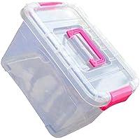 Black Temptation Nützliche Tragbare Medizin Aufbewahrungsbox Travel Medical Box, Rose preisvergleich bei billige-tabletten.eu