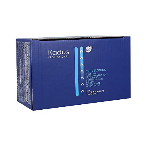 KADUS PROFESSIONAL TRUE BLONDES Dust-free Lightening Powder with Hydroprotect Technology, 1er Pack (2 x 500 g)