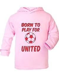 Born To Play pour Manchester United F.C. Ultra Doux pour Bébé à Capuche pour Homme