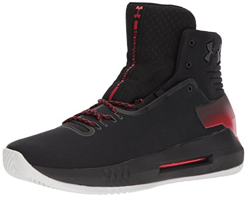 Under Armour Herren UA Drive 4 Basketballschuhe, Schwarz (Black 001), 43 EU