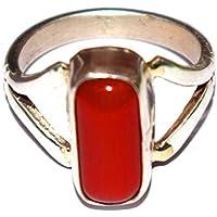 DIVYA Shakti 10,25–10.50Karat Ring Koralle rot (moonga/Munga Stein Silber Ring) 100% Original Edelstein preisvergleich bei billige-tabletten.eu