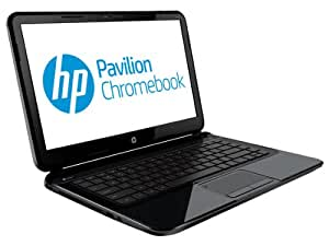 HP 14-c070sg 35,6 cm (14 Zoll) Chromebook (Intel Celeron 847, 1,1GHz, 4GB RAM, 16GB SSD, Intel HD, Chrome) schwarz