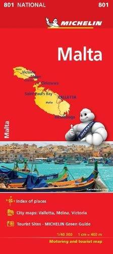 Mapa National Malta (Colección Mapas National Michelin)