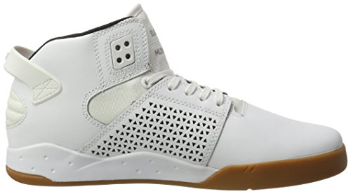 Supra Skytop Iii, Haute sneakers homme Weiß (White-Gum)