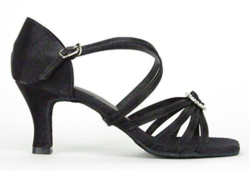 So Danca BL130 Chaussure de danse femme Salon Salsa Rumba Latine Tango Talon 6.4 cm noir