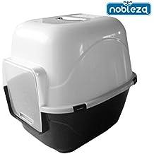 Nobleza - Bandeja higiénica cubierta para gatos