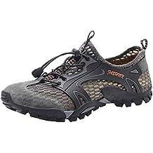 Botas de Senderismo para Hombre,ZARLLE Hombre Zapatos de Agua al Aire Libre para Senderismo