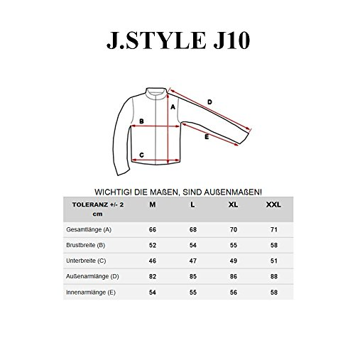 BOLF Herren Sweatshirt Pullover Langarmshirt Pulli Slim Fit Classic 1A1 Motiv Grau