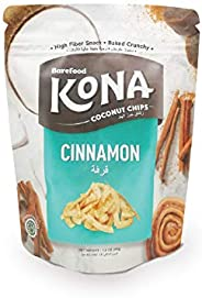 Barefood Kona Coconut Chips - A healthy Snack made of Natural Ingredients 45 gms