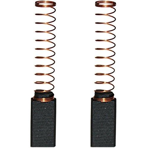 Preisvergleich Produktbild Kohlebürsten Kohlestifte Motorkohlen für Black & Decker Bohrmaschine , Bohrhammer D 101 / D 102 / D 104 VR / D 108