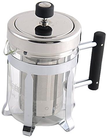 La Cafetiere 660 ml Nouveau Classic Teapot, Silver