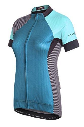 Funkier Damen Mataro Bistro wj814Pro Short Sleeve Radfahren Jersey S blau (Shirt Jersey Sleeve Riding)
