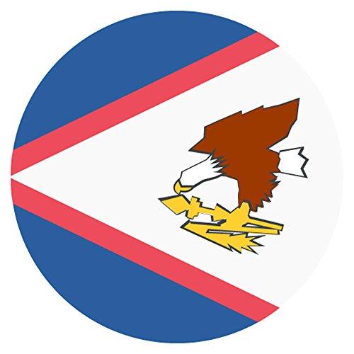 flag di segno per American Samoa metallo Emoji / Flag for American Samoa Emoji Metal Sign - Novità American Flag