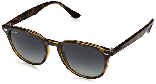 Ray-Ban RAYBAN Unisex-Erwachsene Sonnenbrille 4259 Havana/Greygradientdarkgrey, 51