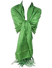 GFM KOOLART, efecto de seda bufanda Wrap chal damas de honor novia o de fiesta