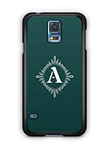 YuBingo Monogram with Beautifully Written letter A Mobile Case Back Cover for Samsung Galaxy S5