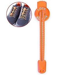 YaToy lacci di Sneakers con lacci in pizzo arancione & rosso fI6yjKr3o6