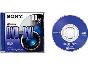 Sony DVD-RW 1.4 GB / 1x-2X -30 Min BLANK DVDRW - Pack Of 2