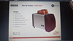 Inalsa Kwik Toast Pop Up Toaster