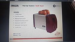 Inalsa Kwik Toast Pop Up Toaster