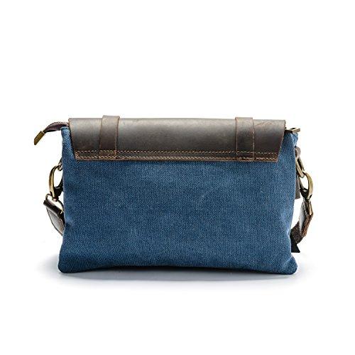 Parubi  Valeria, Damen Rucksackhandtasche Schwarz schwarz, blau (Blau) - PRB1050 blau
