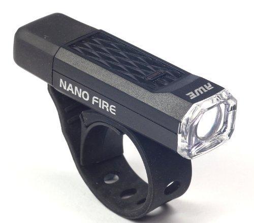 AWE® Nano Fire™ USB 12 Lumen-wieder aufladbares Schwarzes Helmlampen