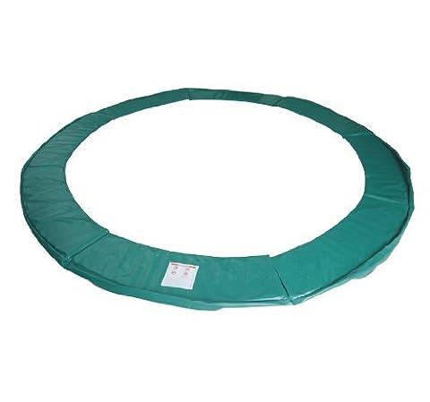 Homcom Randabdeckung Trampolin Durchmesser 244 cm, Grün, B3-0053