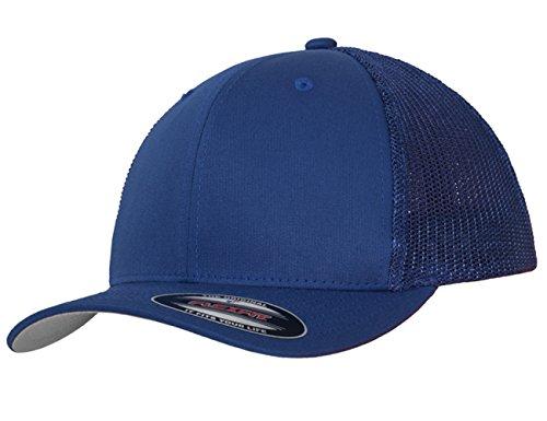 Damen Herren Unisex Trellis Trucker Cap blau Snapback Hut Accessoires