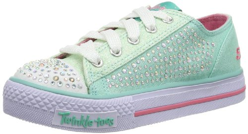 Skechers ShufflesGlamour Ties Mädchen Sneakers Blau (Aqua)