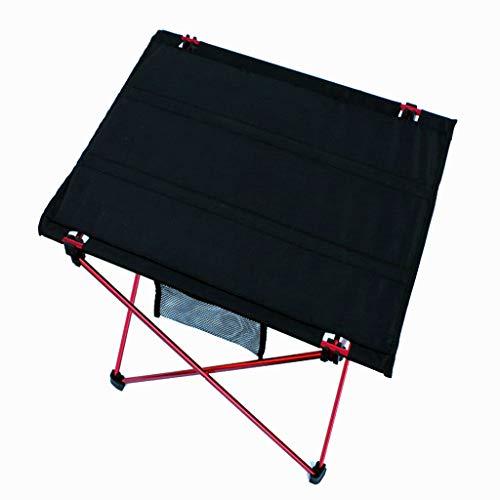 Table de Pique-Nique extérieure/Table Pliante d'extérieur/Table Pliante en Aluminium Ultra-léger/Table Portable (pour Pique-Nique, fêtes, extérieur)