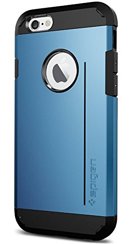 Spigen SGP10957 Slim Armor Series Case für Apple iPhone 6 shimmery weiß Tough Armor S - Electric Blue