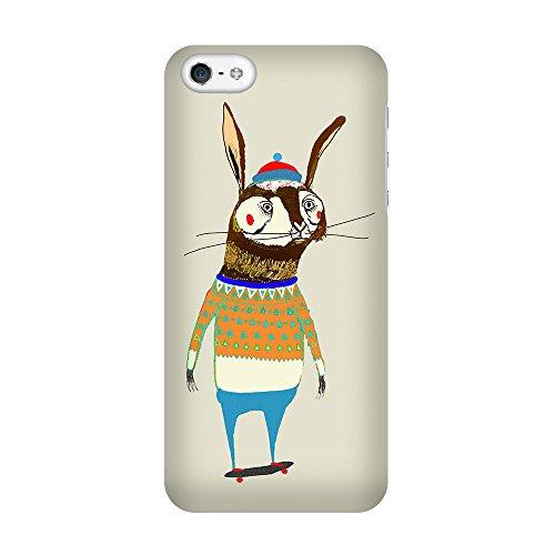 iPhone 4/4S Coque photo - lièvre patineur