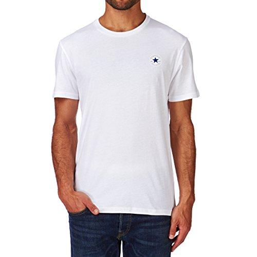 Converse Herren Pocket Patch Tee T-Shirt OPTICAL WHITE