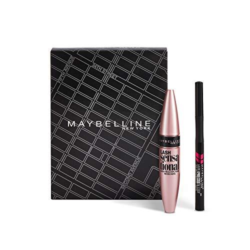 Maybelline Make-up Set, mit Lash Sensational Mascara und Hyper Precise Liquid Liner