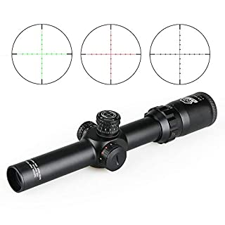 Canis Latrans Tactical 2.5-10X26 FFP Rifle Scope with Free 30mm Rifle Scope Bubble Level for Hunting Shooting