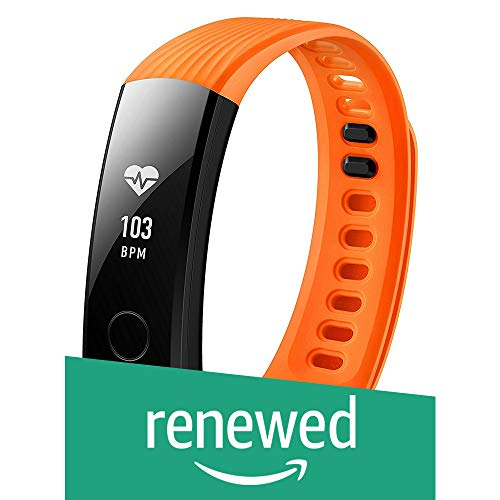(Renewed) Honor Band 3 Activity Tracker (Orange)