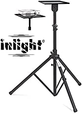Inlight Universal Projector Floor Stand - Adjustable Between 4-6 Feet Height from the Ground