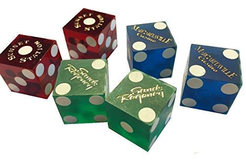 6-real-las-vegas-casino-dados-craps-un-par-de-color-rojo-azul-y-verde-6-die-3-pares