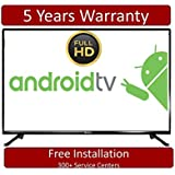 BlackOx 43  Full HD Smart Android LED TV 45LF4301 Televisions